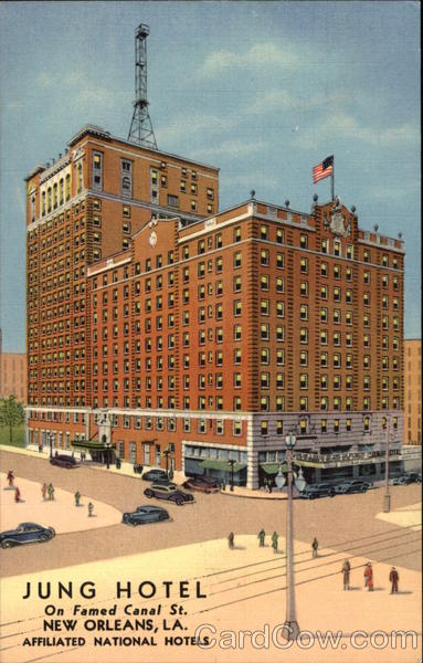 Jung Hotel New Orleans Louisiana