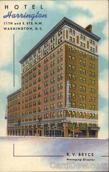 Harrington Hotel, 11th and E. Sts., N.W Washington District of Columbia