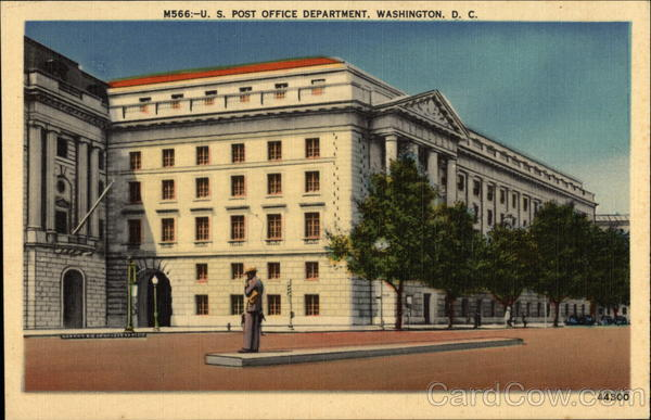 U. S. Post Office Department Washington District of Columbia