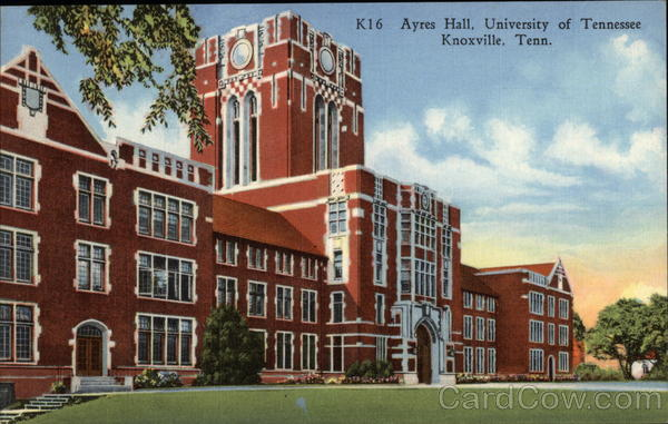 Ayres Hall, University of Tennessee Knoxville