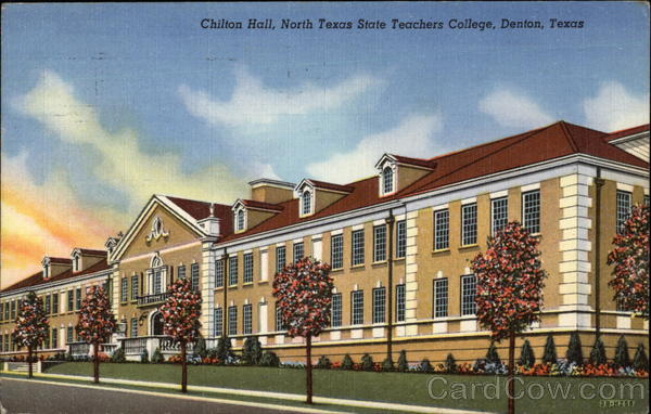 Chilton Hall, North Texas State Teachers College Denton