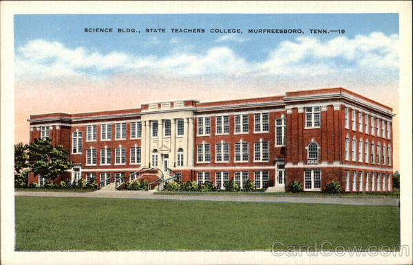 Science Building, State Teachers College Murfreesboro Tennessee