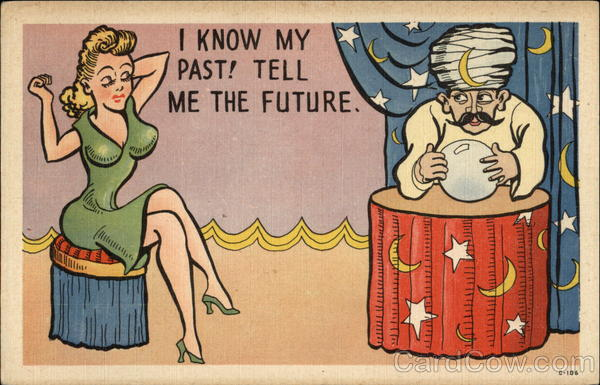 I Know My Past! Tell me the Future Comic, Funny