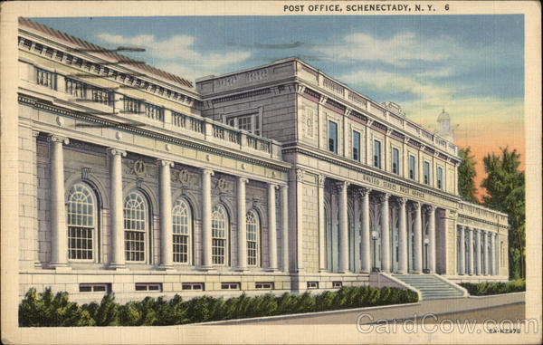 Post Office Building Schenectady New York