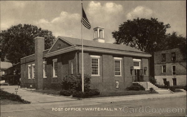 Post Office Whitehall New York