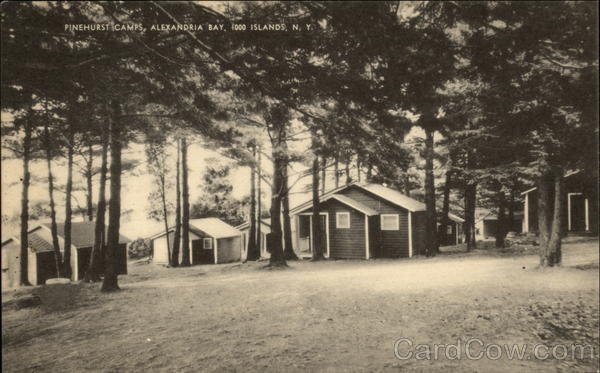 Pinehurst Camp at Alexandria Bay New York