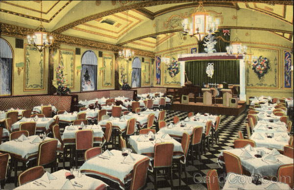 Odenbach Restaurant - Part of Main Dining Room Rochester New York