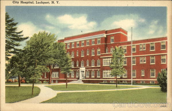City Hospital Lockport New York