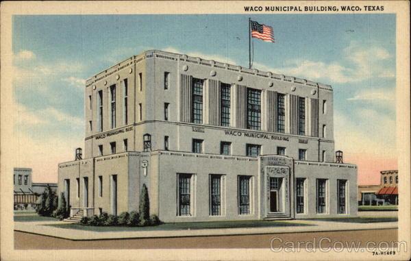 Waco municipal building for Waco builders