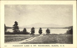 Pleasant Lake & Mt. Kearsarge