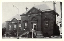 Public Library Main Entrance in Springfield