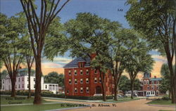 St. Mary's School, Villa Barlow Convent, and Hospital