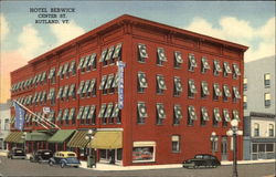 Hotel Berwick, Center St Postcard