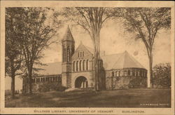 Billings Library, University of Vermont