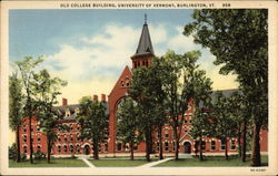 Old College Building at the University of Vermont