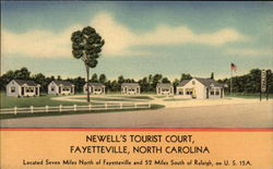 Newell's Tourist Court in Fayetteville
