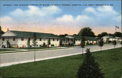 General View Showing Portion of Buildings, O'Reilly General Hospital, U.S. Army