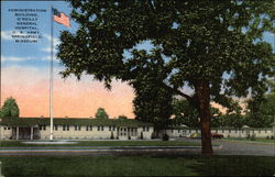 Administration Building, O'Reilly General Hospital, US Army