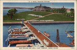 U.S. Naval Training Station - War College and Drill Field