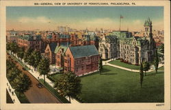 General View of the University of Pennsylvania