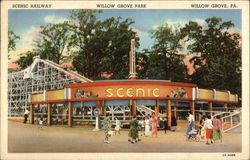 Willow Grove Park - Scenic Railway
