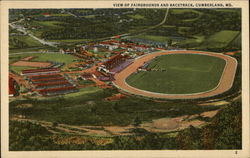 View of Fairgrounds and Racetrack