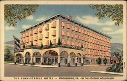 The Penn-Stroud Hotel (In The Pocono Mountains)