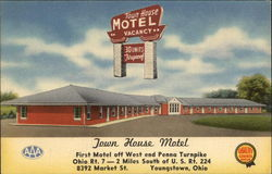 Town House Motel, First Motel off West end Penna Turnpike