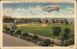 "The ""Blimp"" over Waterfront Park in ""The Sunshine City"""