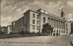 Benjamin Ide Wheeler Hall at the University of California