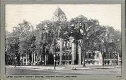 Lake County Court House Postcard