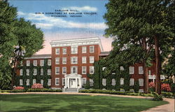 Earlham Hall, girls Dormitory at Earlham College