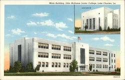 Main Building at John McNeese Junior College