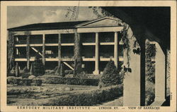 View of Barracks, Kentucky Military Institute