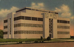 Ector County Court House in Odessa Postcard