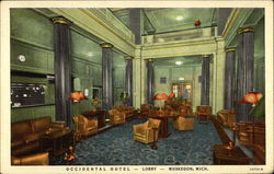 Lobby of the Occidental Hotel