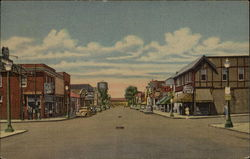 First Avenue, Looking West Postcard