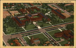 Air View of Fresno State College