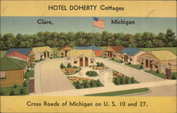 Hotel Doherty Cottages Postcard