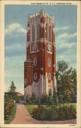The Tower at Michigan State College