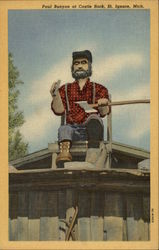 Paul Bunyan at Castle Rock