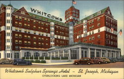 Whitcomb Sulphur Springs Hotel - Overlooking Lake Michigan