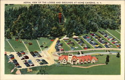 Aerial View of the Lodge and Grounds