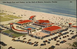 Lido Beach Pool and Casino on the Gulf of Mexico