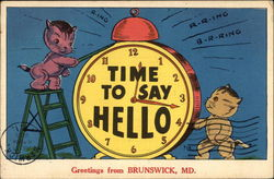 Greetings - Time to say Hello