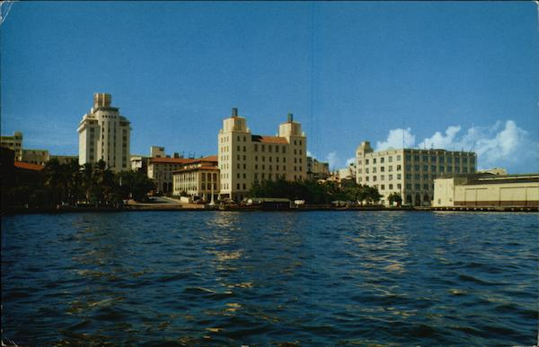The Skyline and Waterfront San Juan Puerto Rico