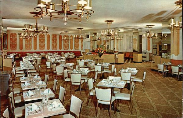Bellevue Stratford Hotel - Coffee Shop Philadelphia Pennsylvania