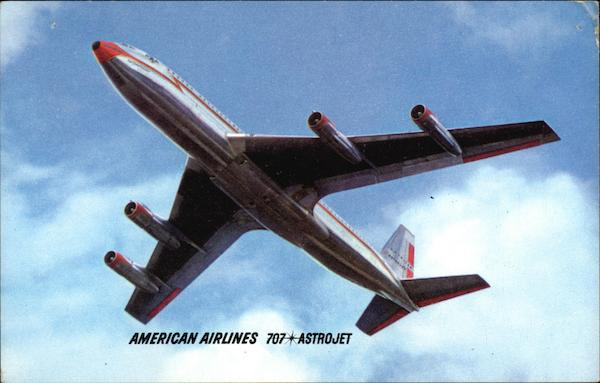 American Airlines 707 Astrojet Aircraft