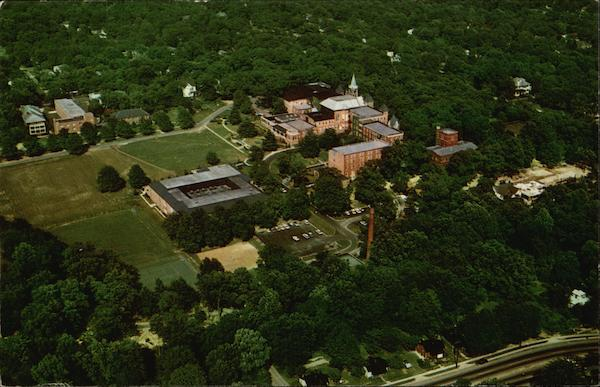 Aerial View of Converse College Spartanburg South Carolina