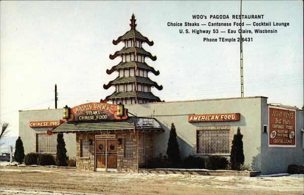 Woos Pagoda Restaurant Eau Claire Wi